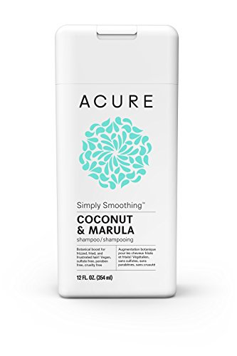 ACURE Simply Smoothing Shampoo, Coconut, 12 Fl. Oz. (Packaging May Vary)