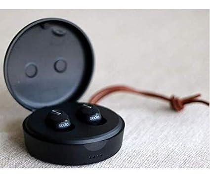 Sudio - Auriculares de Diadema nivš Negro con Bluetooth 4.1: Amazon.es: Electrónica