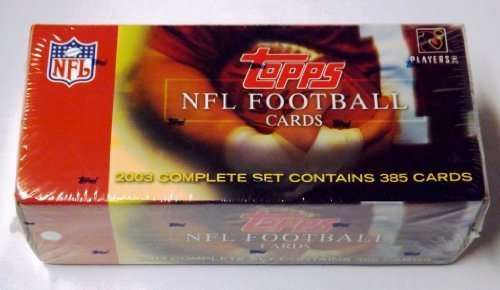 2003 Topps Fußball Karten – Komplett-Set enthält 385 Karten von Topps