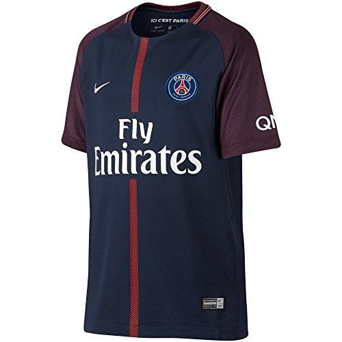 Nike Youth Breathe Paris Saint-Germain Stadium Jersey [MIDNIGHT NAVY] – DiZiSports Store