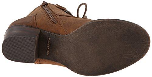 887865273226 - Madden Girl Women's Westmont Combat Boot, Cognac, 8.5 M US carousel main 2