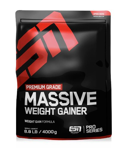 ESN Massive Weight Gainer, 4000g Vanilla Ice Cream