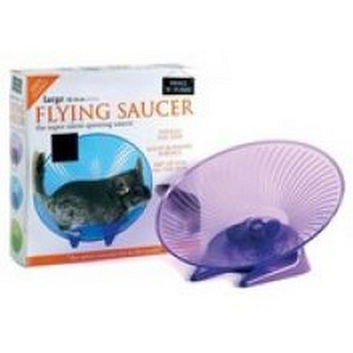 Small N Furry Flying Saucer Wheel (12in) (May Vary)