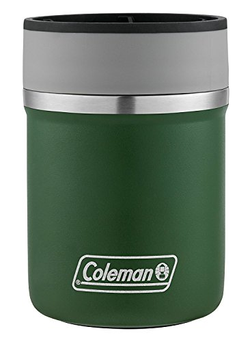(Coleman Lounger Stainless Steel Can Insulator, Heritage Green,)