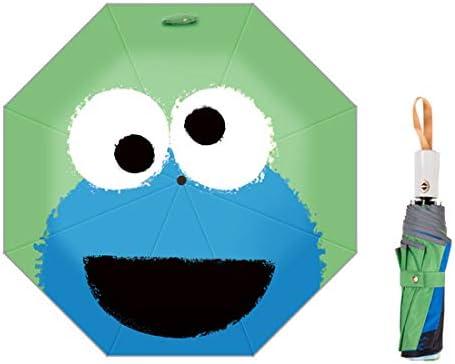 Levoberg Regenschirm Kinder Automatik, Taschenschirm Kinder Automatik mit reflektierender Streifen Wasserabweisende und Stabil 8-Rippe für Mädchen und Jungen