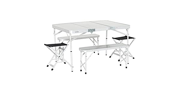 New Eurohike Family Picnic Table Set Camping Furniture