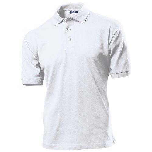 Hanes Mens Plain Polo Shirt