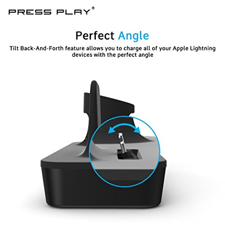 size 40 c3d9f 8056b ONE Dock Duo (APPLE CERTIFIED) Power Station Dock, Stand   Charger with  Built