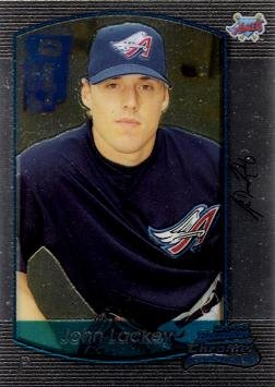 - 2000 Bowman Chrome Draft Picks Baseball #80 John Lackey Rookie Card - Near Mint to Mint
