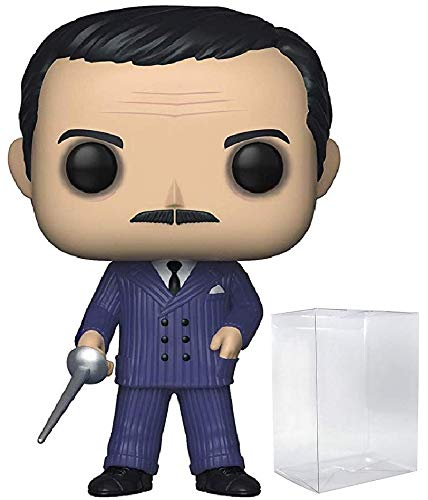 Funko TV: The Addams Family - Gomez Addams with Sword Limited Edition Chase Pop! Vinyl Figure (Includes Compatible Pop Box Protector Case)