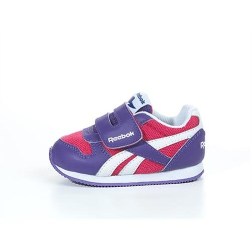 Blanc Jogger Royal Rose 5 chaussures Violet CL Taille KC femmes Reebok tq8f0wpn
