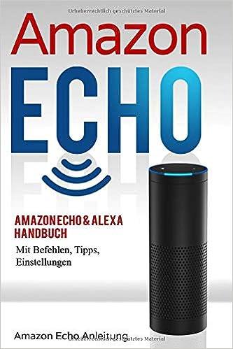 Amazon Echo Alexa Handbuch Mit Befehlen