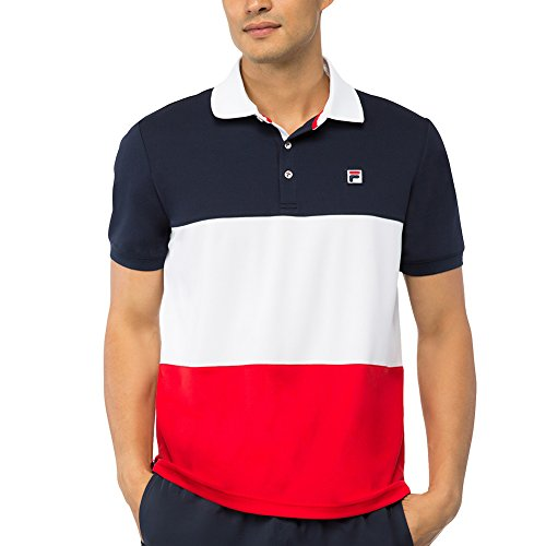 fila-mens-heritage-color-blocked-polo-shirt-peacoat-white-chinese-red-m
