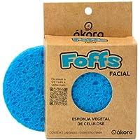 Foffs Esponja de Celulose Facial (Azul)