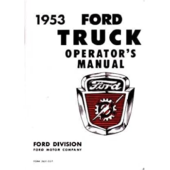 amazoncom  ford model  owners manual user guide