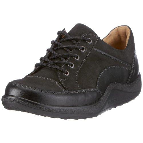 Ganter AKTIV Fee, Weite F 0-200551-0101 - Zapatillas de deporte de cuero para mujer Negro