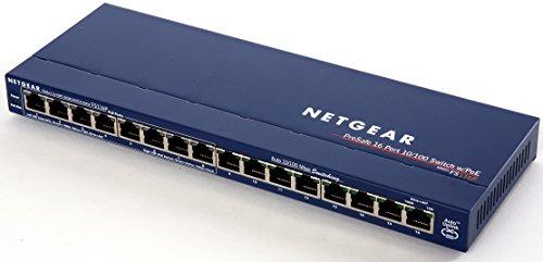 NETGEAR ProSAFE FS116PNA 16-Port Fast Ethernet Switch with 8 PoE Ports 70w (FS116PNA) by NETGEAR (Image #2)