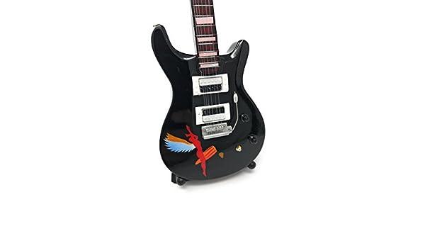 Guitarra en miniatura decorativa Guitarra Guitar PRS 26 cm mano de ...