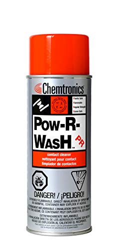 (Chemtronics Pow-R-Wash Electronics Cleaner - Spray 340 G Aerosol Can - ES1605 [Price Isper Can])