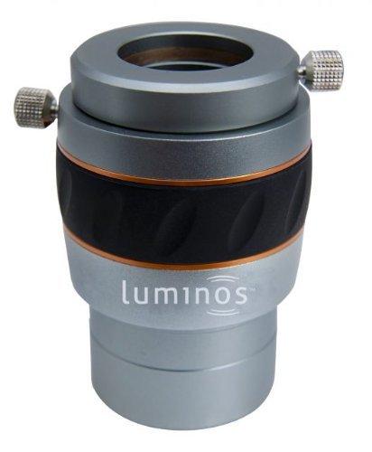- Celestron 93436 Luminous 2-Inch 2.5x Barlow Lens (Silver)