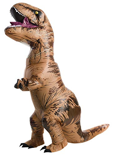 Adult Halloween Costume Women (Rubie's Adult Official Jurassic World Inflatable Dinosaur Costume, T-Rex,)