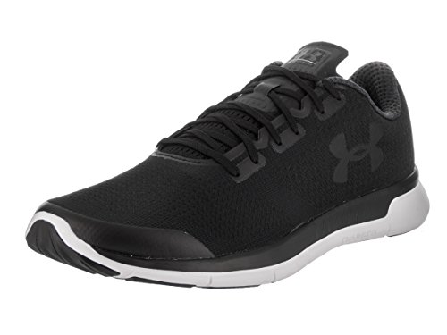 Under Armour Men's Ua Charged Lightning 1285681-907 Trainers, Blue, M US Blk/Blk/Blk