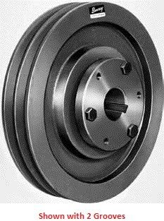 Browning, 3B5V184, Fixed Pitch Sheave, 3 Groove(s), 18.68 Inch Diameter, B Bushing Required, Used with A,B,5V Belts -