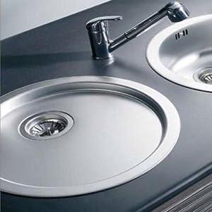 Teka Round Deep Kitchen Sink Drainer With 3.5