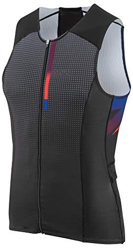 Louis Garneau Men's Pro Carbon Comfort Quick Dry, Sleeveless Triathlon Top, Pop, X-Large ()
