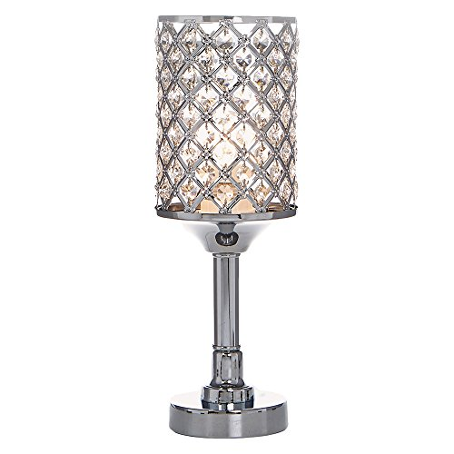 crystal chandelier table lamp - 9