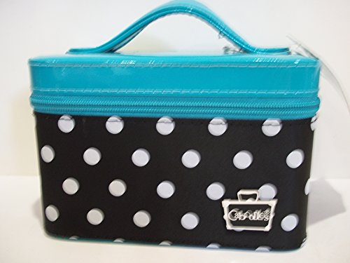 caboodles-go-getter-small-train-case-aqua-polka-dots