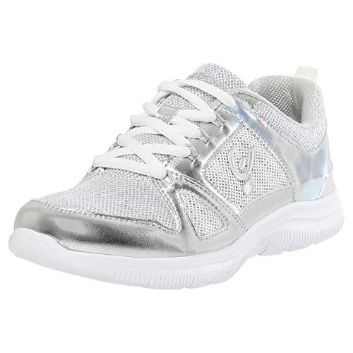 White Inserti Freddy Con Sneaker In Metallizzati Mesh 4x41wHZ