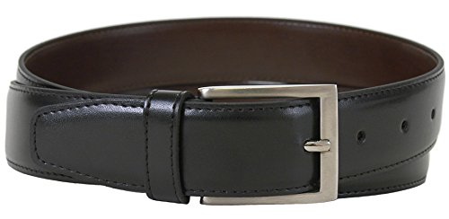 The Vegan Collection Men's Captain Black Non Leather Belt (40