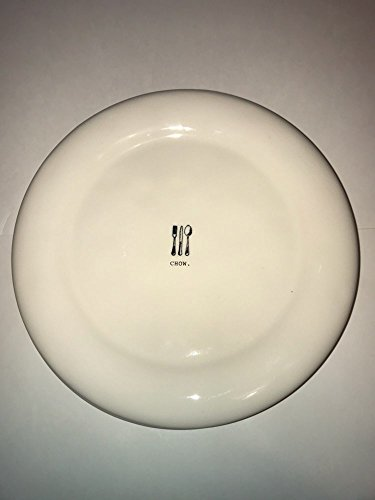Rae Dunn by Magenta CHOW Dinner Plate