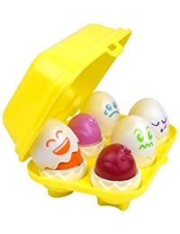 Hide N' Tweet Eggs; Chirping Squeaky Eggs; Educational Toys, Learning Toys, Preschool Toys For Toddlers BOBEBE Online Baby Store From New York to Miami and Los Angeles