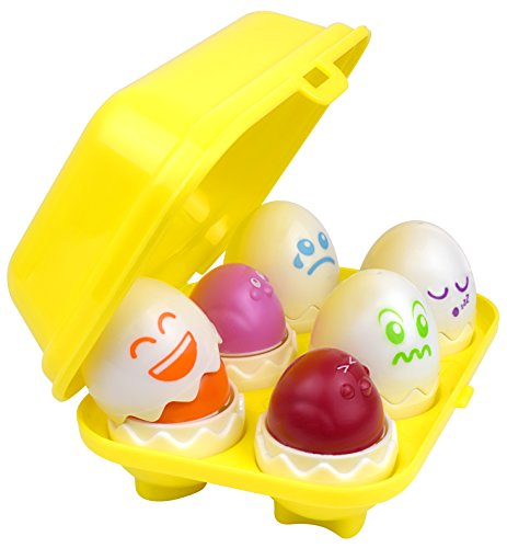 Hide N' Tweet Eggs; Chirping Squeaky Eggs; Educational Toys, Learning Toys, Preschool Toys For Toddlers