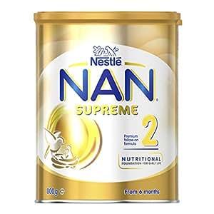 Nestlé NAN Supreme Stage 2 Follow-on Infant Formula Powder Tin 800g