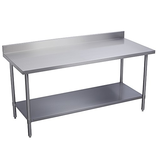 Fenix Sol Stainless Steel Commercial Kitchen Work Prep Table, 24\