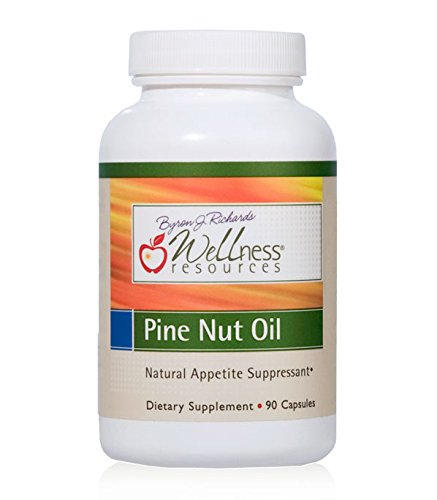 Pine Nut Oil (1000 mg, 90 Capsules) - Appetite & Digestive Health - 40% OFF CLEARANCE DISCOUNT