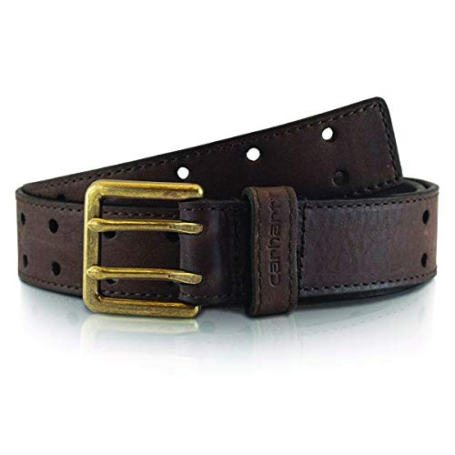 Carhartt Double Perf Belt for Boys, Brown, 18-20
