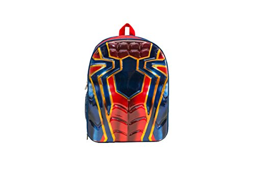 Marvel Boys' Spiderman Suit Chest Backpack, Red Chest, One Size by Marvel