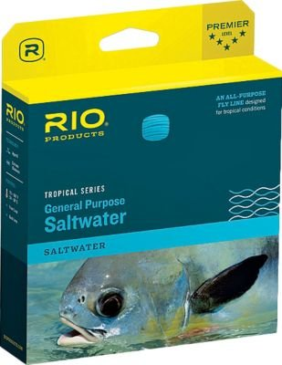 RIO Products Fly Line Tropical Saltwater Ii Wf10I/I, Clear-Tip-Trans-Green