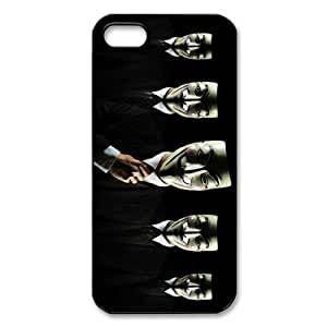 Awesome Mask Cool Black Costume Hard Plastic Cover Case for Iphone 5 5s