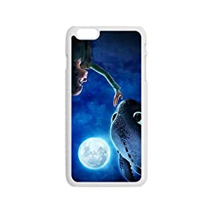Moon night fish and boy Cell Phone Case for Iphone 6