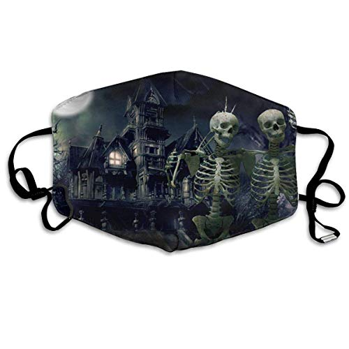 SOADV Mouth Masks Anti Dust Face Mouth Cover Mask Skeleton Halloween Anti Pollution Breath Healthy -