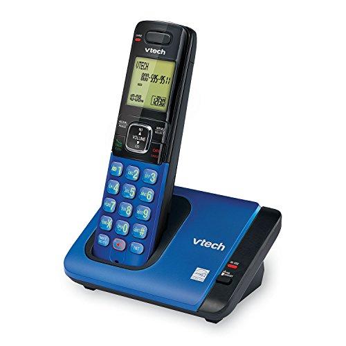 VTech CS6719-15 DECT 6.0 Cordless Phone with Caller ID/Call Waiting, 1 Cordless Handset , Blue