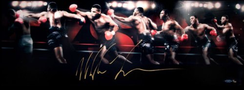 Mike Tyson Autographed