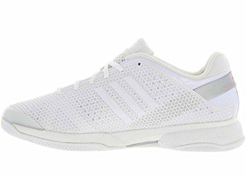 Adidas - Zapatillas de Deporte de Material Sintético Mujer, blanco (blanco), 41 1/3