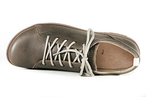 Birkenstock Islay - Zapatos de Cordones de Piel Para Hombre Gris Piedra PpIvFOXpQR