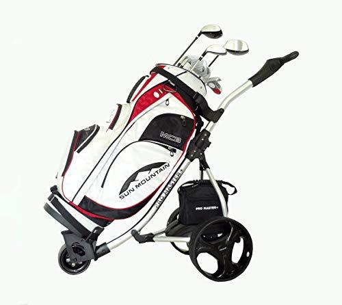 Electric-Golf-Trolley-Digital-Folding-Cart-Lightweight-Power-36-Hole-Battery